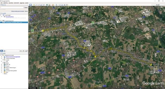 KML Google Earth